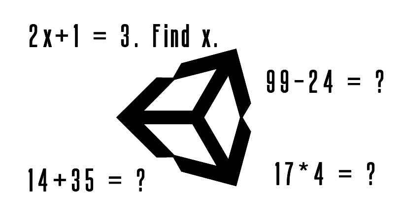 Create a math game for kids using Unity Scripting
